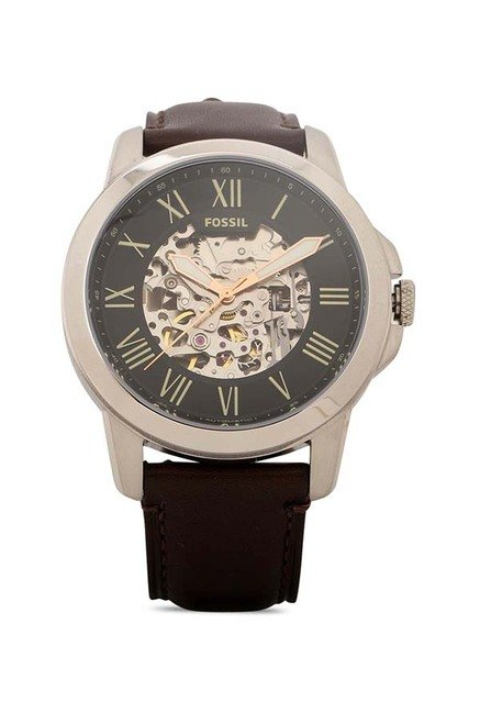 78e1c86bec3 Buy Fossil ME3100 Grant Analog Watch for Men Online At Tata CLiQ