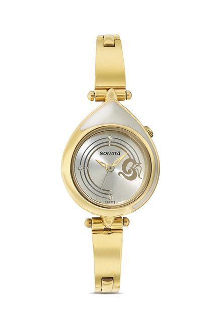 Sonata 8119YM03 Utsav Analog Watch for Women