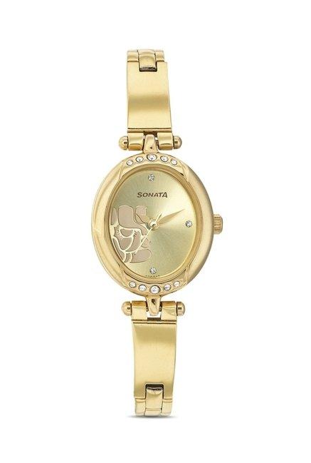 Sonata 8118YM01 Utsav Analog Watch for Women
