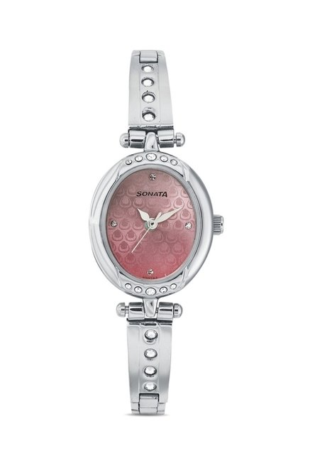 Sonata 8118SM01 Utsav Analog Watch for Women