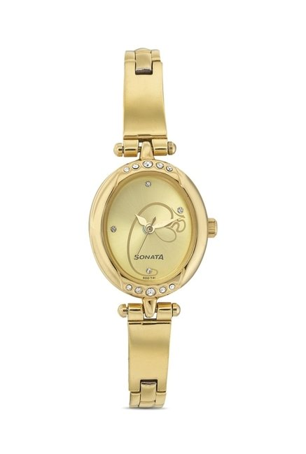 Sonata 8118YM03 Utsav Analog Watch for Women