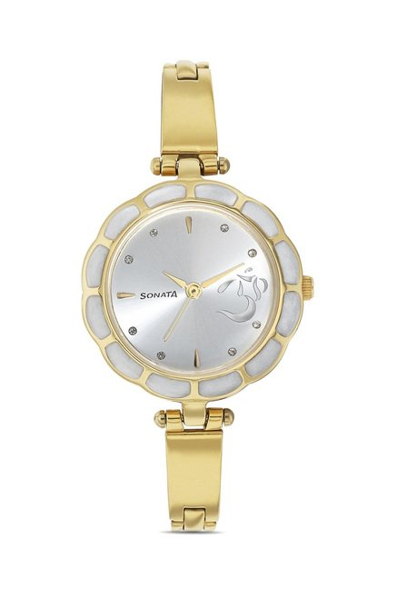 Sonata 8120YM01 Utsav Analog Watch for Women