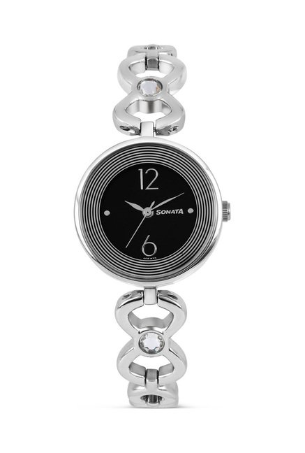 Sonata 8136SM01 Glamors Analog Watch for Women
