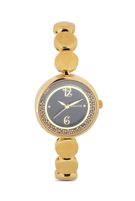 Sonata 8136YM03 Glamors Analog Watch for Women