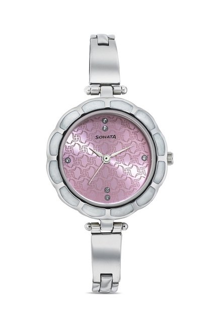 Sonata 8120SM01 Party Analog Watch for Women