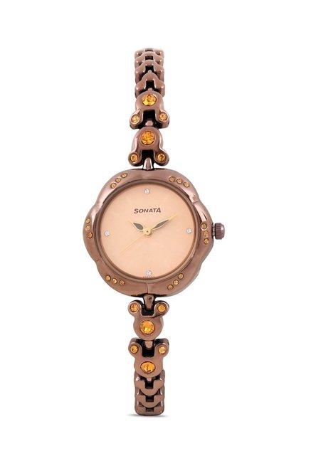 Sonata 8121QM01 Diwali Analog Watch for Women