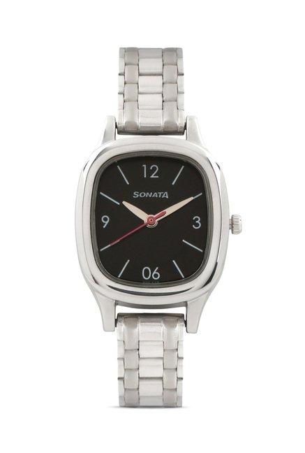 Sonata 8060SM02 Professional Analog Watch for Women