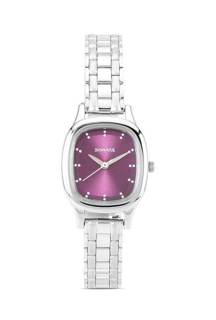 Sonata 8060SM03 Professional Analog Watch for Women