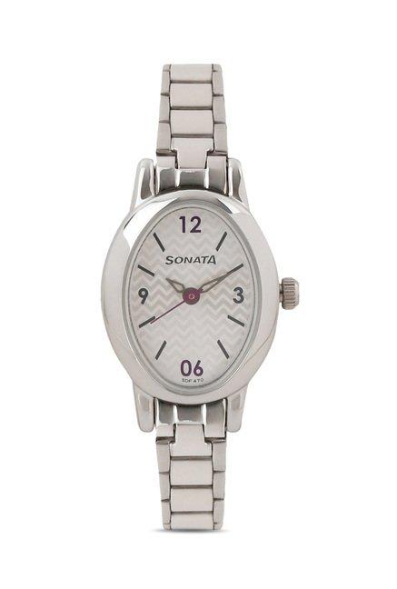 Sonata 8100SM03 Professional Analog Watch for Women