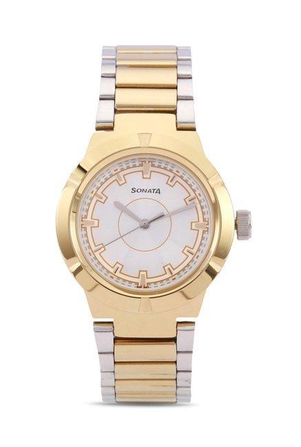 Sonata 8138BM01 Professional Analog Watch for Women