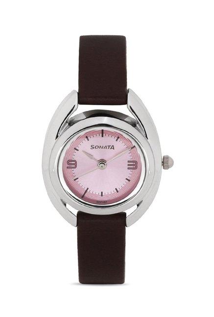 Sonata 8960SL03J Professional Analog Watch for Women