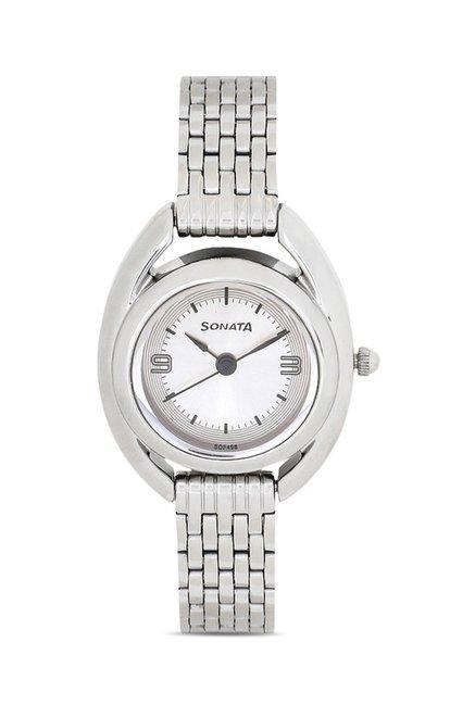 Sonata 8960SM01J Professional Analog Watch for Women