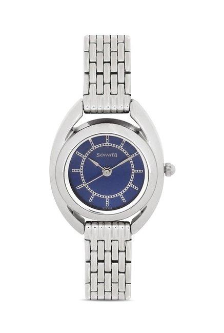 Sonata 8960SM02J Professional Analog Watch for Women