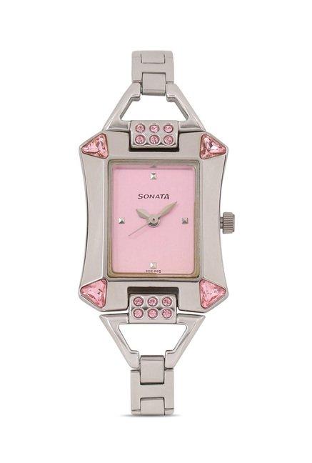 Sonata 8124SM01 Analog Watch