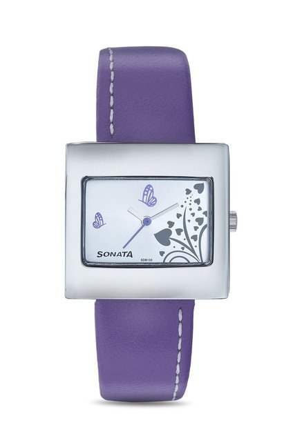 Sonata 8965SL02 Yuva Analog Watch for Women