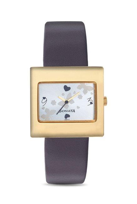 Sonata 8965YL02 Yuva Analog Watch for Women