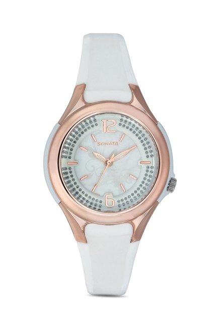 Sonata 8972PP02 Yuva Analog Watch for Women