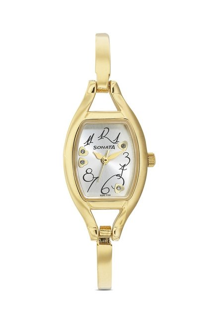 Sonata 8114YM04 Wedding Analog Watch for Women