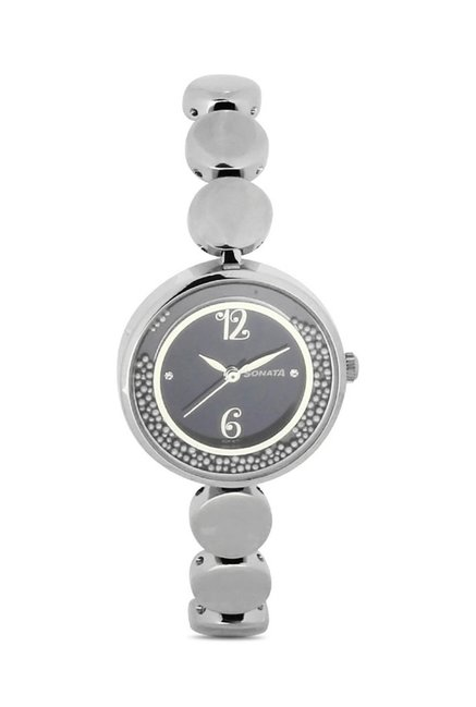 Sonata 8136SM04 Glamors Analog Watch for Women
