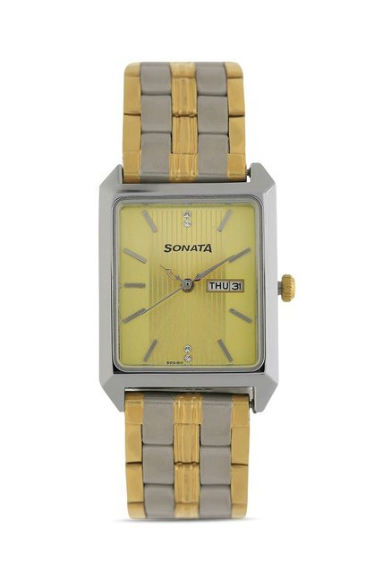 Sonata 7007BM01 Imperial Analog Watch for Women
