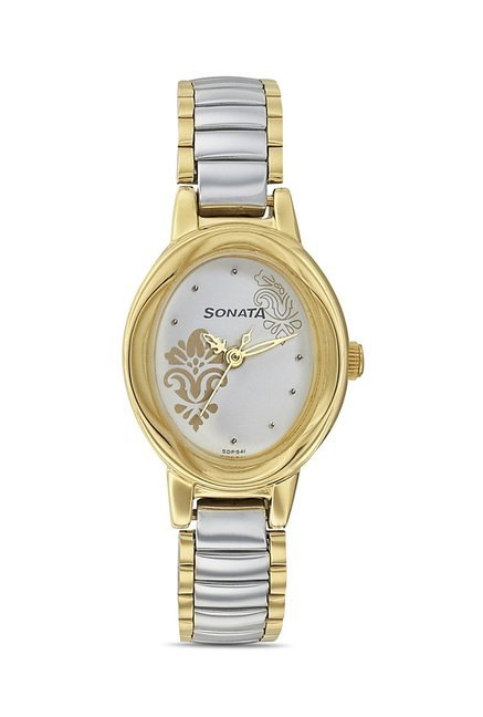 Sonata 8085BM02 Imperial Analog Watch for Women
