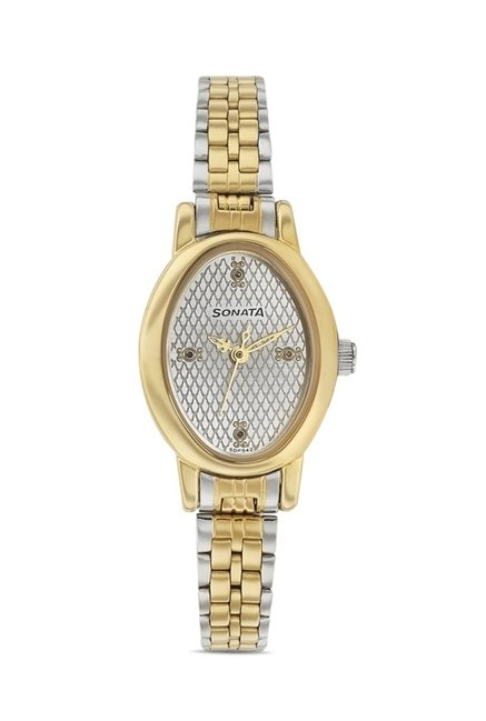 Sonata 8100BM02 Imperial Analog Watch for Women
