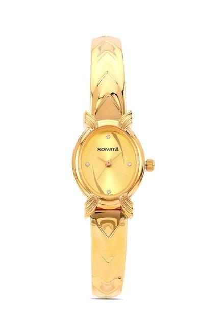 Sonata 8110YM01 Elite Analog Watch for Women