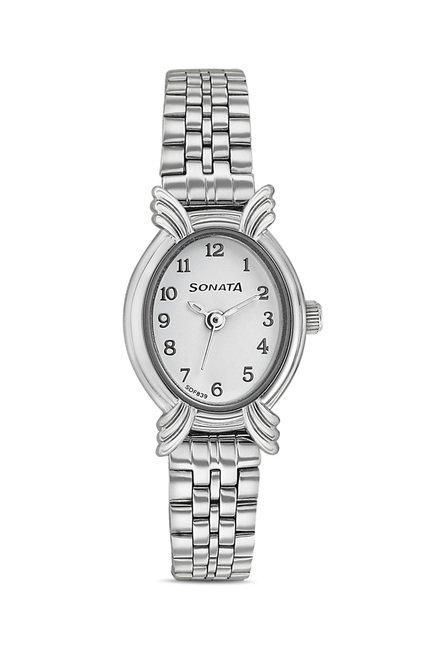 Sonata 8110SM02 Elite Analog Watch for Women