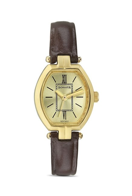 Sonata 8083YL04 Elite Analog Watch for Women