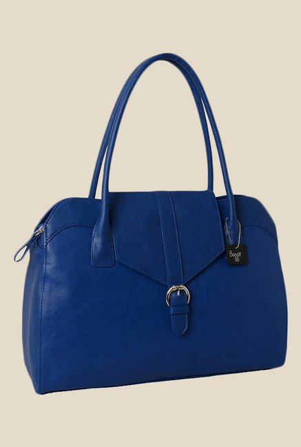 Baggit Prive Bindas Blue Synthetic Shoulder Bag