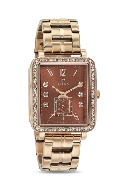 Titan 95042WM02J Analog Watch for Women