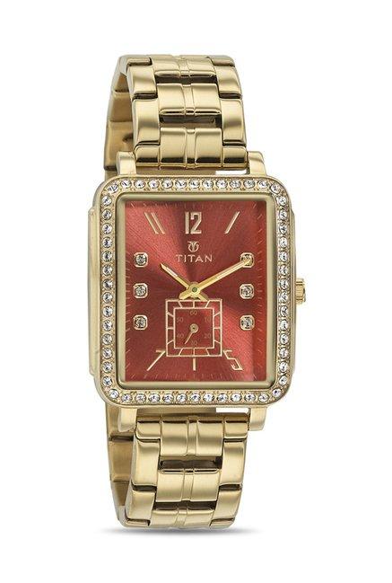 Titan 95042YM01J Analog Watch for Women