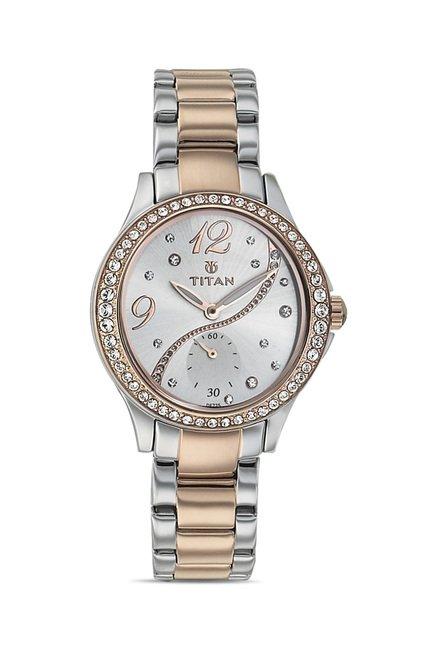 Titan 95024KM01J Analog Watch for Women