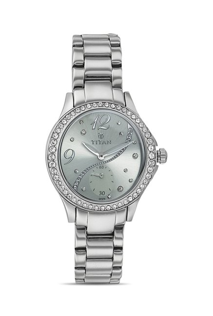 Titan 95024SM03J Analog Watch for Women