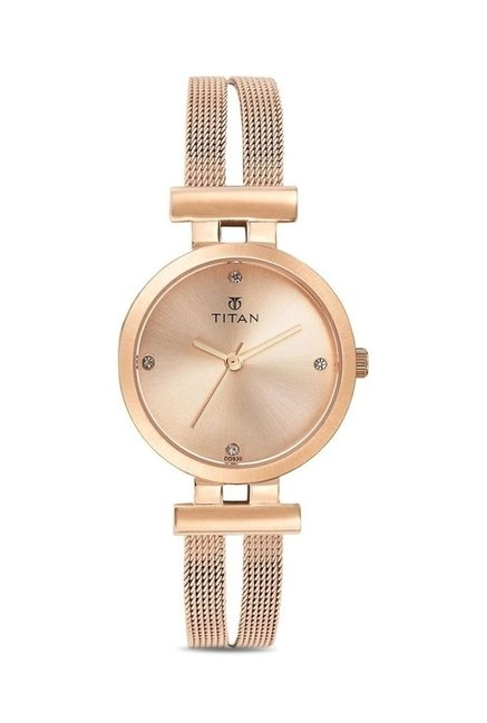 Titan 9942WM01J Analog Watch for Women