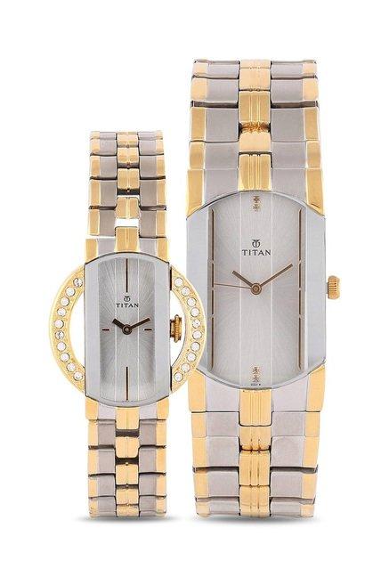 Titan NH19642964BM01 Pair Bandhan Analog Couple Watch