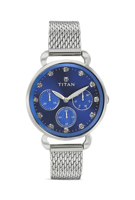 Titan 95013SM01J Analog Watch for Women