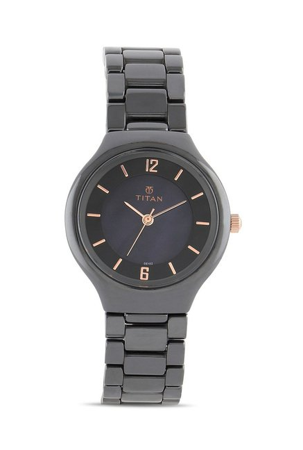 Titan 95018KC02J Analog Watch for Women