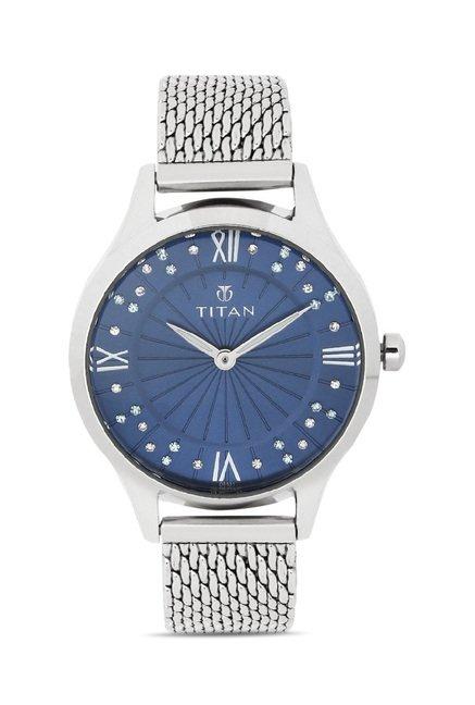 Titan 95020SM01J Analog Watch for Women
