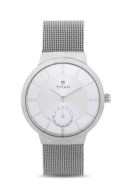 Titan 95033SM01J Work Wear Analog Watch for Women