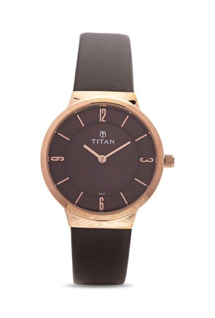 Titan 95033WL01J Work Wear Analog Watch for Women