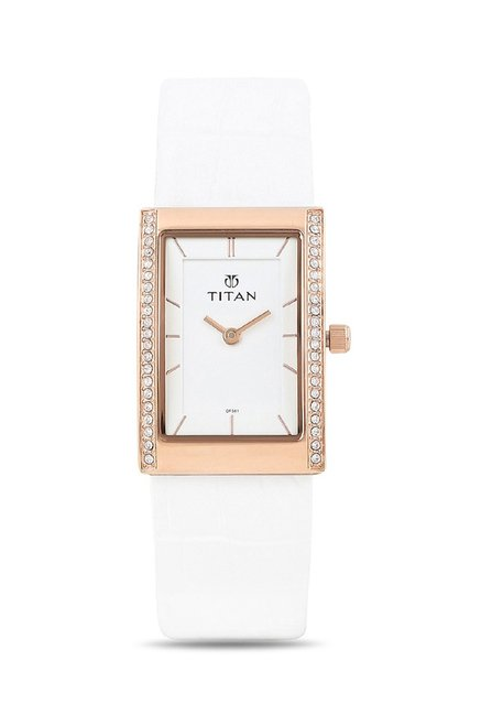 Titan 95034WL01J Work Wear Analog Watch for Women