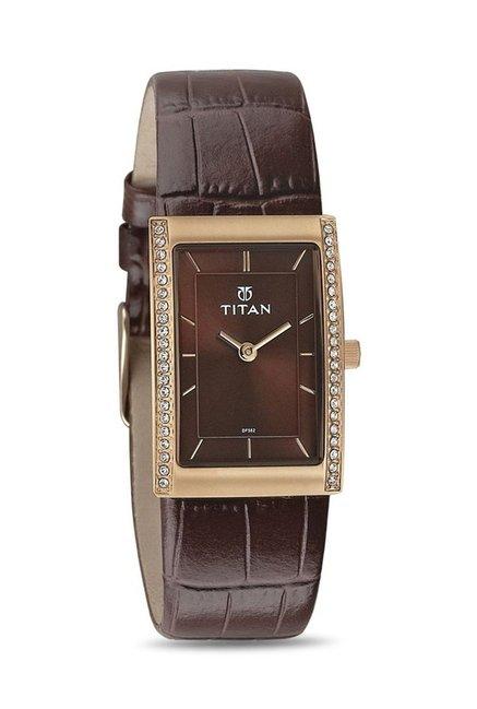 Titan 95034WL02J Work Wear Analog Watch for Women