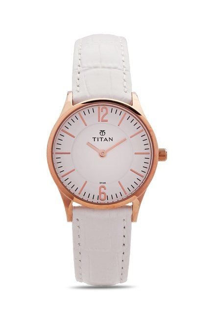 Titan 95035WL01J Work Wear Analog Watch for Women