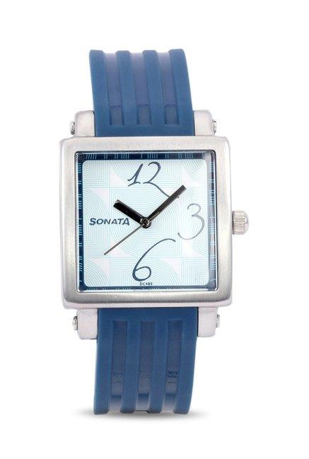 Sonata 8990PP02 Fashion Fibre Analog Watch for Women