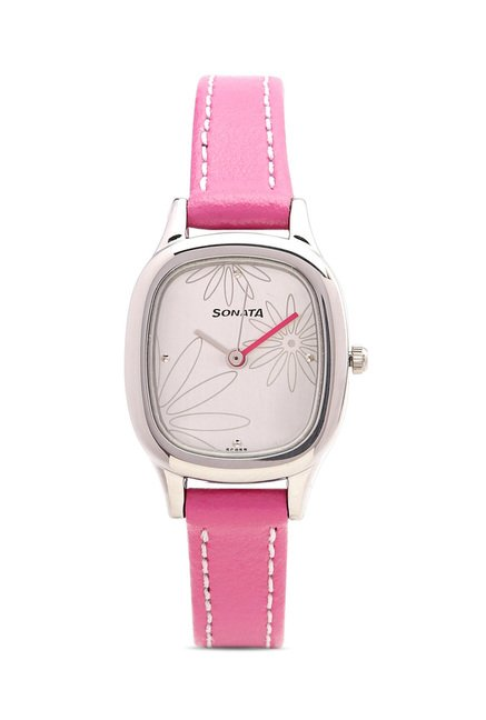 Sonata 8060SL01 Yuva Analog Watch for Women