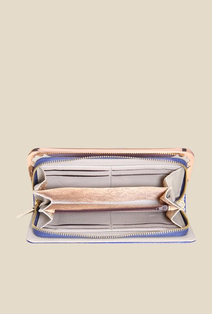 Lino Perros Blue Striped Wallet