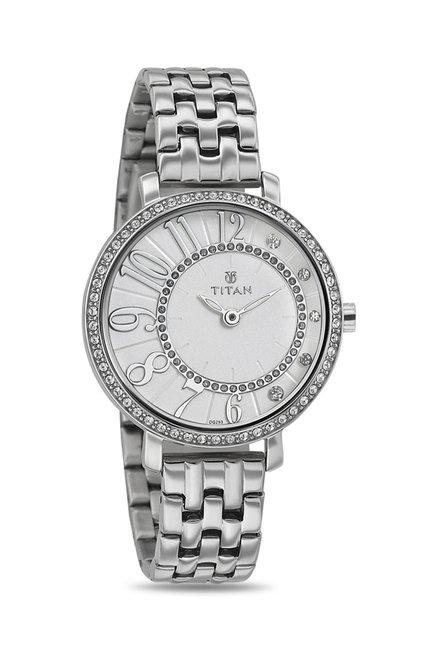 Titan 95041SM01J Analog Watch for Women