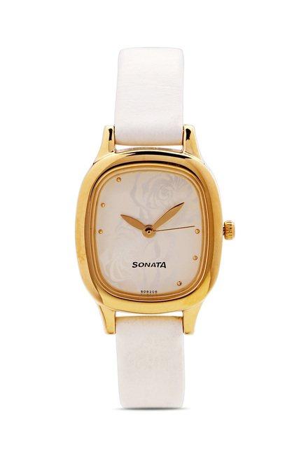 Sonata 8060YL02 Analog Watch for Women