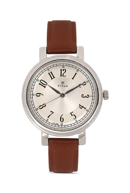 Titan 2554SL01C Work Wear Analog Watch for Women